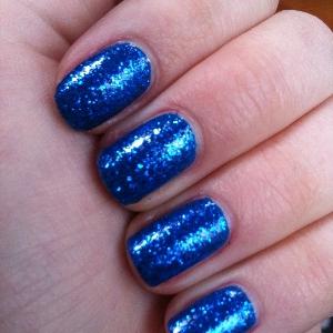 Barry M 291 Cobalt Blue W7 Blue Dazzle