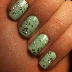 China Glaze Re-fresh mint China Glaze Techno