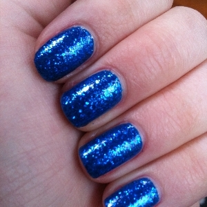 Barry M 291 Cobalt Blue W7 Blue Dazzle